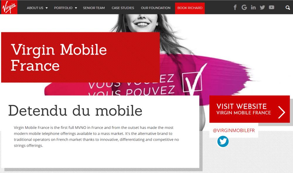 Virgin Mobile Service Client