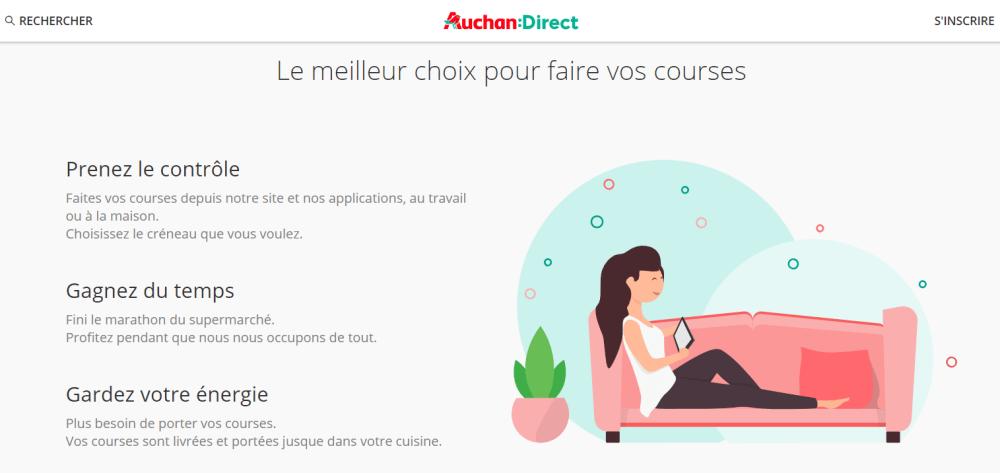 Auchan Direct Service Client